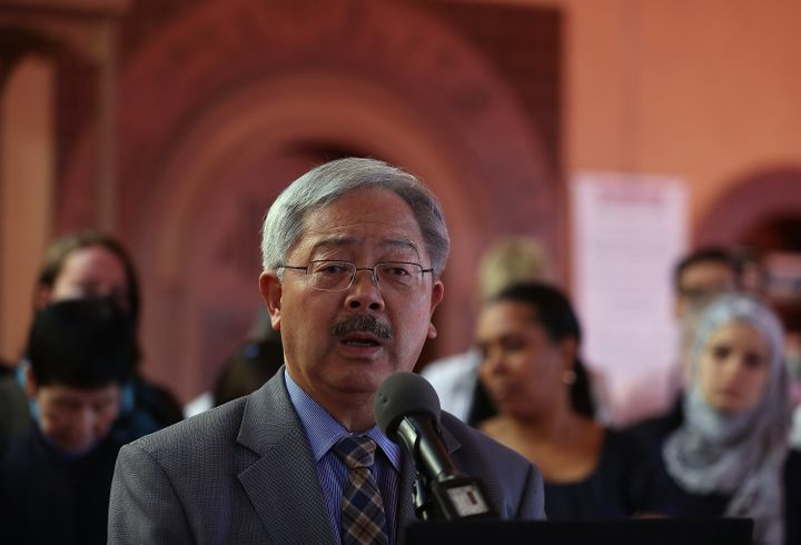 San Francisco Mayor Ed Lee has vowed to uphold his city's immigration policies.