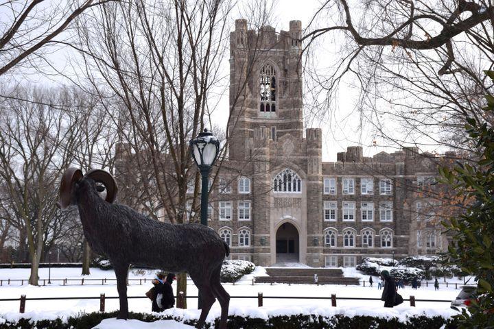 Fordham University's Rose Hill campus.