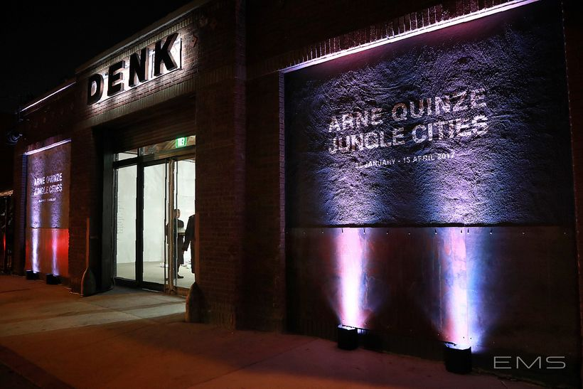 DENK Gallery grand opening.