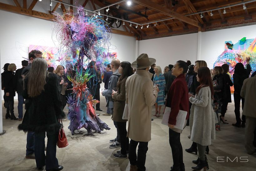 Grand opening at DENK Gallery