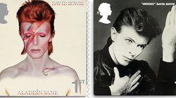 デヴィッド・ボウイ、記念切手で振り返る生前の偉業 10枚組み限定発売へ