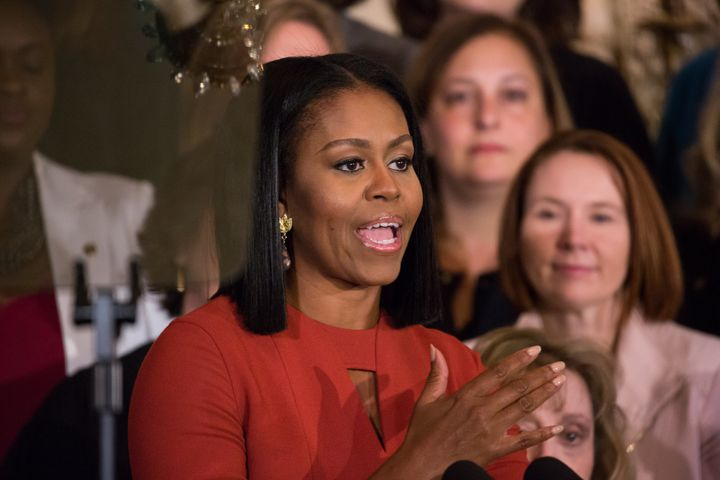 Michelle Obama says Mary Tyler Moore's character inspired her to recognize she would have options beyond what was traditional