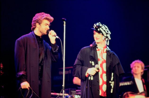 George Michael and Boy George, performing together here in 1987, were pop rivals but latterly, Boy George...