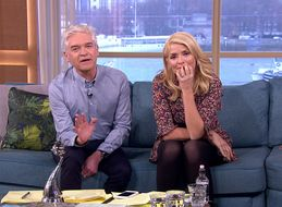 Holly Willoughby And Phillip Schofield Were Not In Great Shape On 'This Morning' After Their NTAs Win