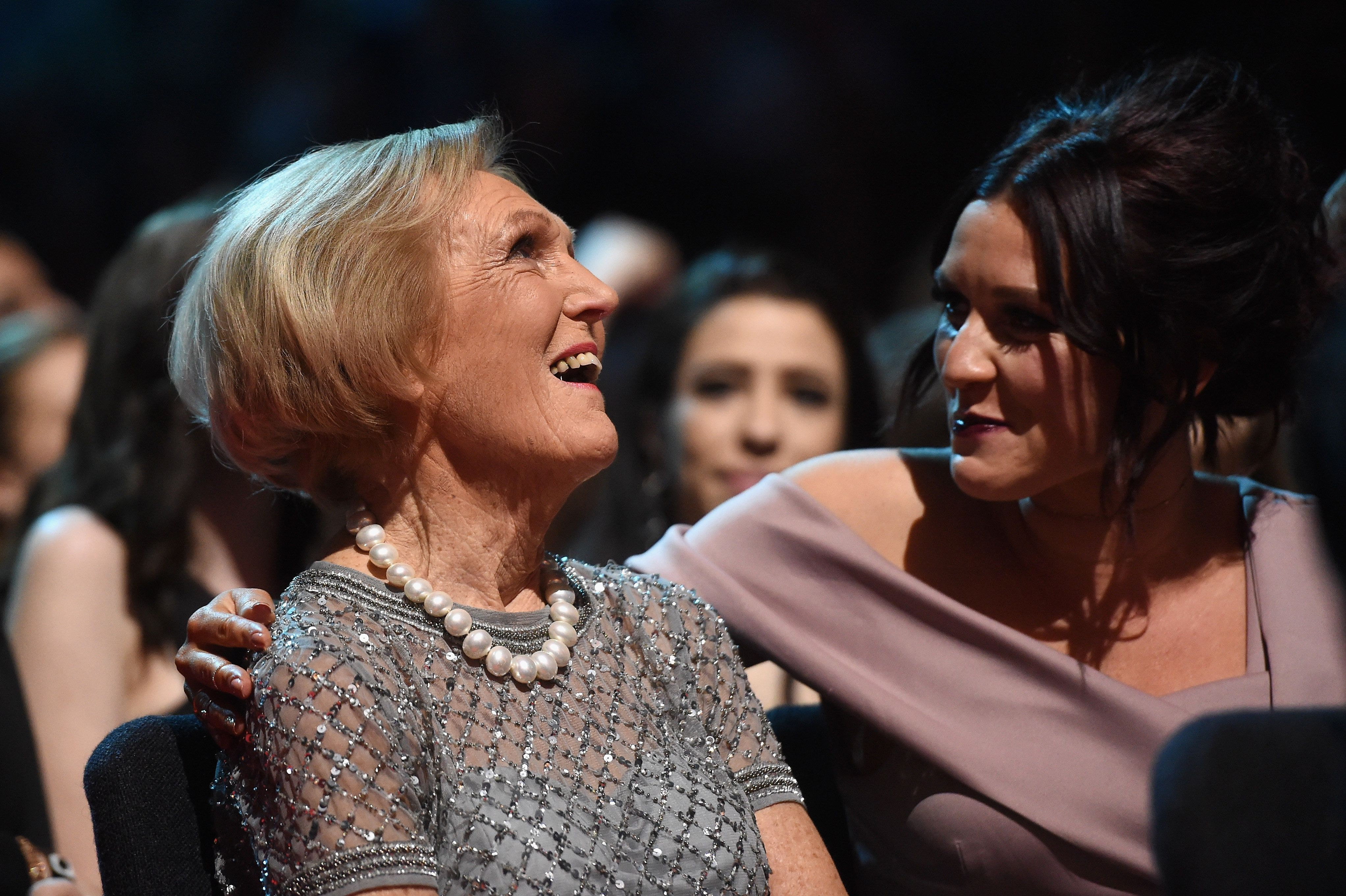Mary Berry attended the NTAs with Candice