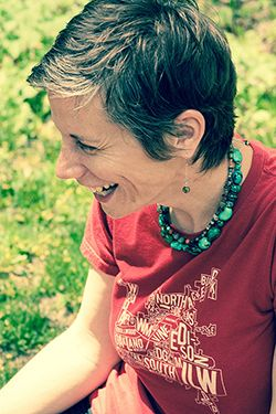 Sarah Drumm is a writer and nature lover. She lives with her partner  Steve and their two kids in Kalamazoo, Michigan (yes, t