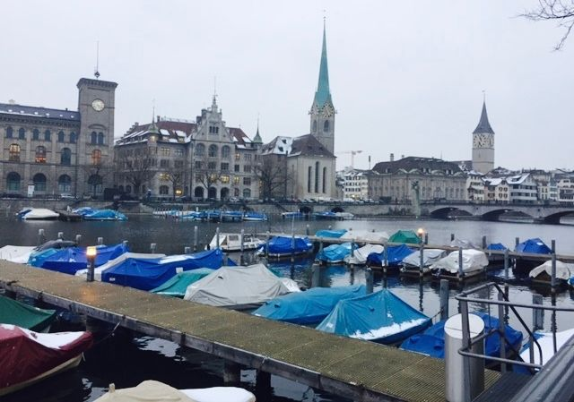 <p>Moving into fresh air and new possibilities in Zurich</p>