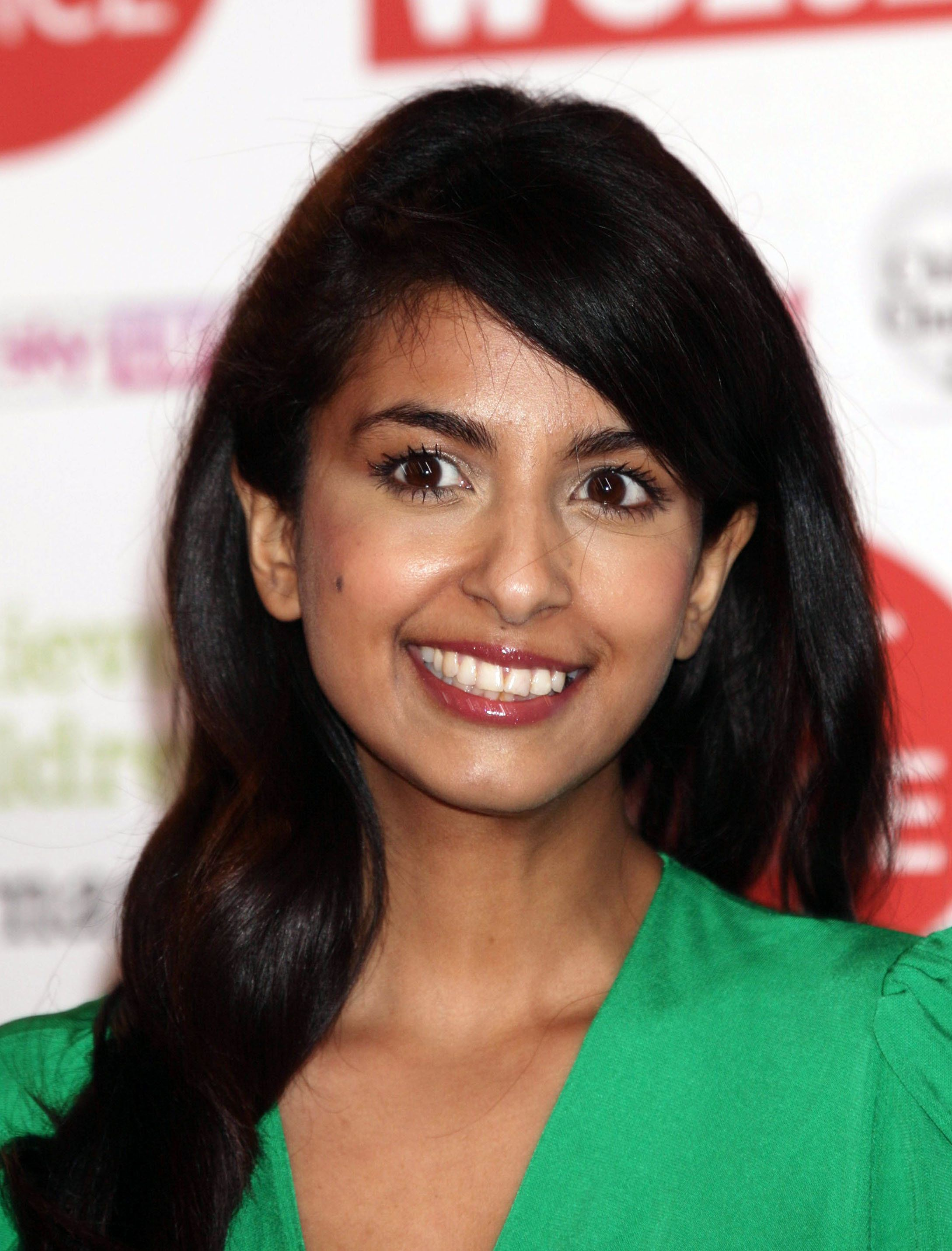 Konnie Huq says now that the BBC's wish to include ethnic minorities on screen helped give her a leg