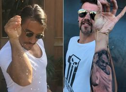 Saltbae's Biggest Fan Gets Permanent Tattoo Of Everyone's Favourite Butcher