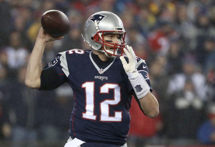 Aveterinary hospital is barking at Tom Brady.