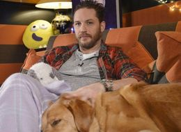 Tom Hardy About To Break More Hearts With Another Bedtime Story, And A Dog