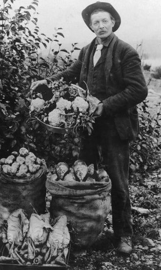 An Italian farmer in Mississippi. Italian immigrants were prevalent as day laborers and were persecuted similarly.