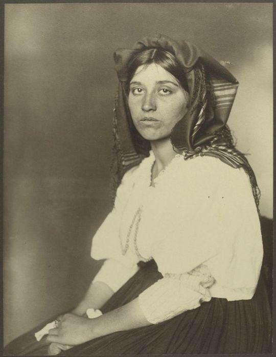 Another Italian woman, via Ellis Island.