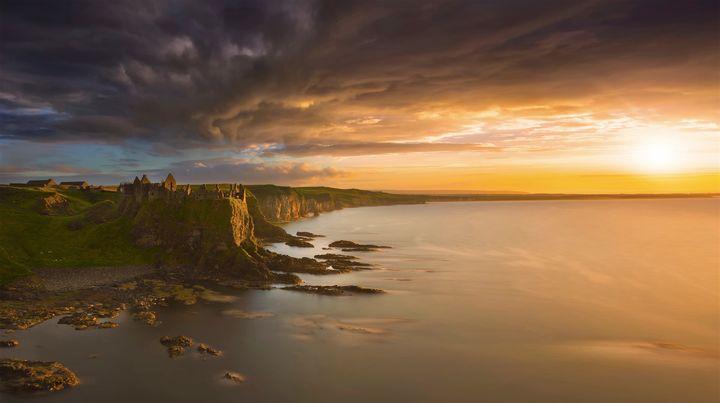Location:Dunluce Castle, Co. Antrim, Northern Ireland.