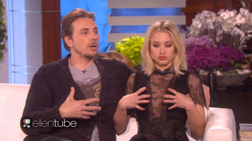 """In January, Kristen Bell shared a hilarious story about the time<a href=""""http://www.huffingtonpost.com/entry/the-funny-"""