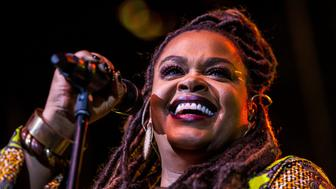 American soul singer Jill Scott performs at North Sea Jazz festival, Rotterdam, Netherlands, 10th July 2016. (Photo by Paul Bergen/Redferns)