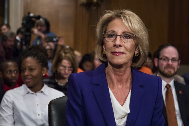 Senate committee approves nomination of Betsy DeVos for secretary of education