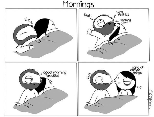 Girlfriend Turns Life With Her Boyfriend Into Ridiculously Cute Comics 588a59741b0000250004cae8