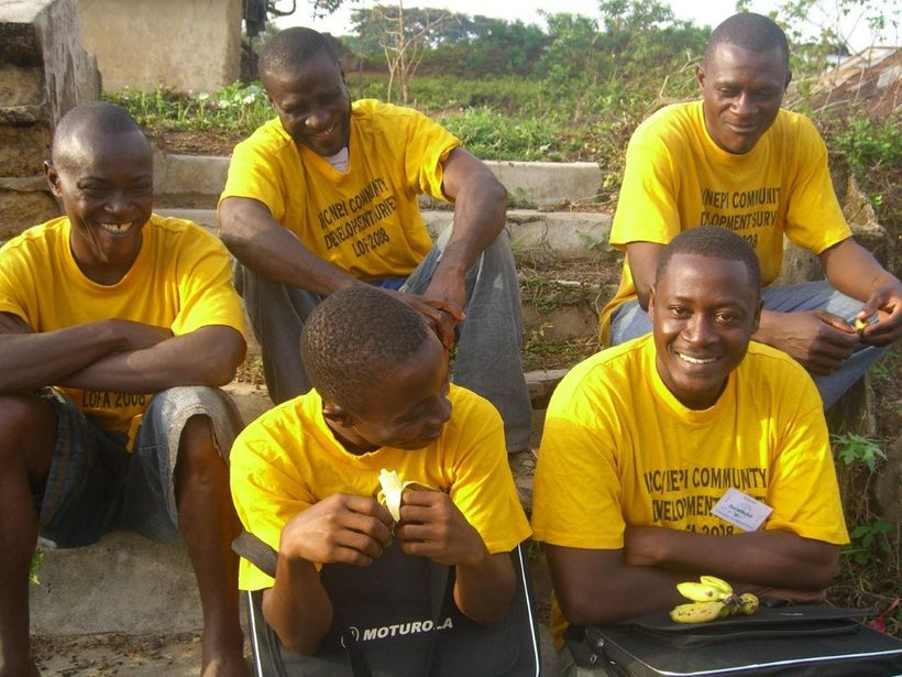 Ex-combatant men in Liberia were recruited for a program to determine the most effective way of helping former combatants rei