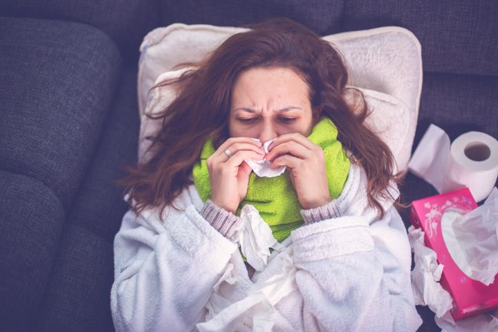 The flu can be a real pain.