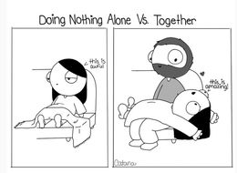 Girlfriend Turns Life With Her Boyfriend Into Ridiculously Cute Comics
