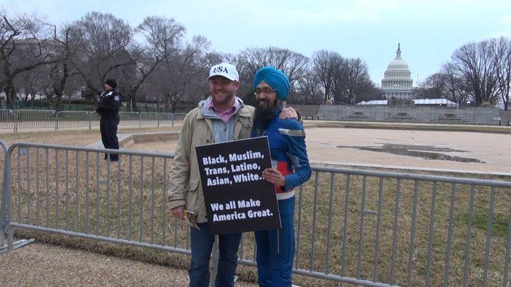 """Black, Muslim, Trans, Latino, Asian, White... We all Make America Great."""