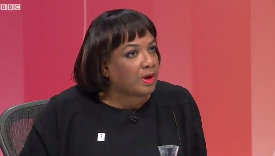 BBC Question Time: Diane Abbott Opposes Trade Deal With Trump If 'British Values'