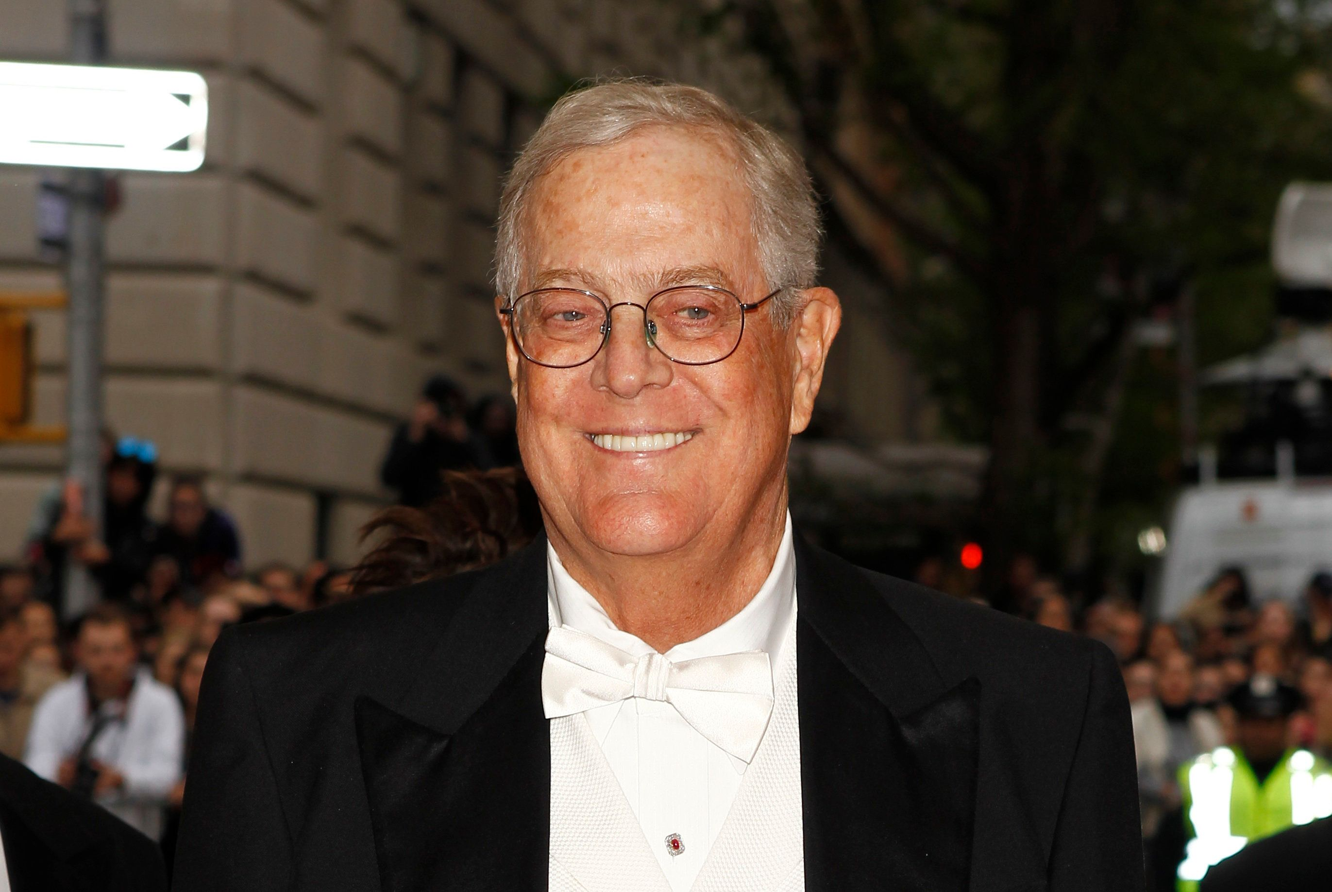 David Koch arrives at the Metropolitan Museum of Art Costume Institute Gala Benefit in New York City, May 5, 2014.
