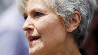 Green Party presidential candidate Jill Stein arrives at a rally of Bernie Sanders's supporters on the second day of the Democratic National Convention in Philadelphia, Pennsylvania, U.S., July 26, 2016. Picture taken July 26, 2016. REUTERS/Dominick Reuter