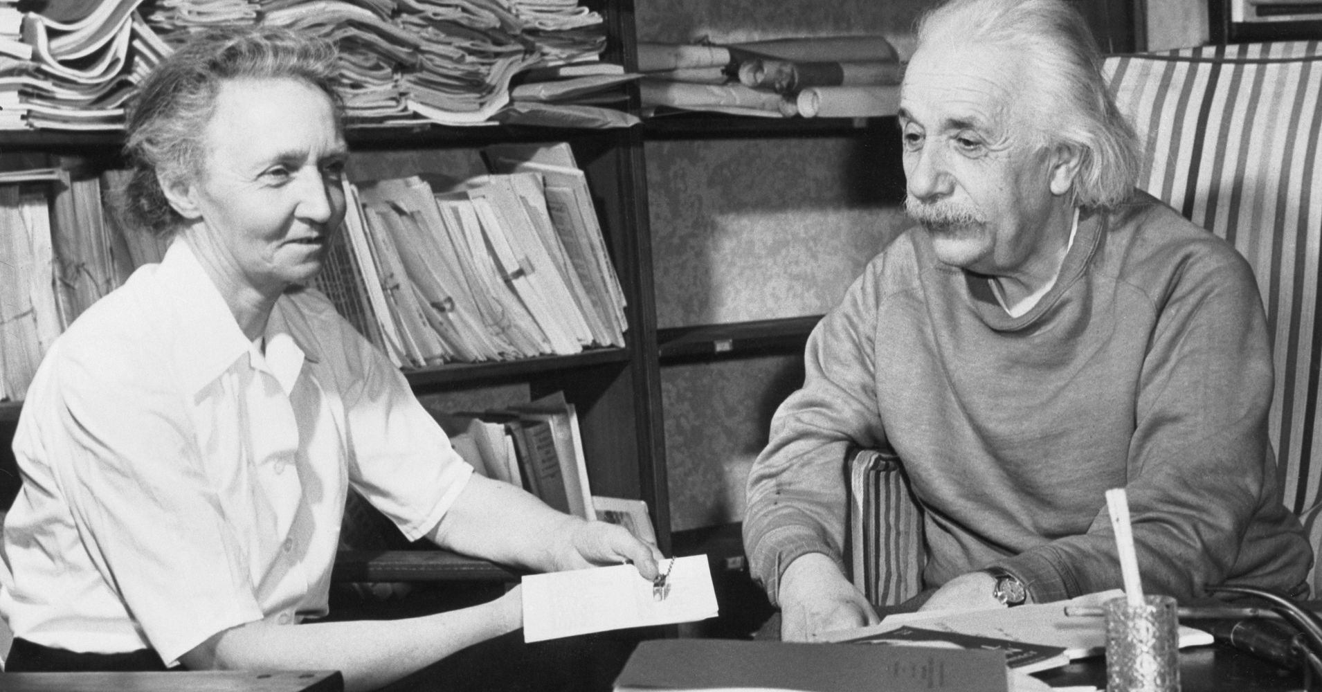 Einstein Once Wrote Marie Curie Telling Her To Ignore the ...