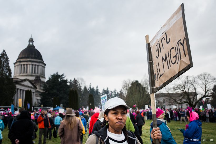 Olympia Women's March