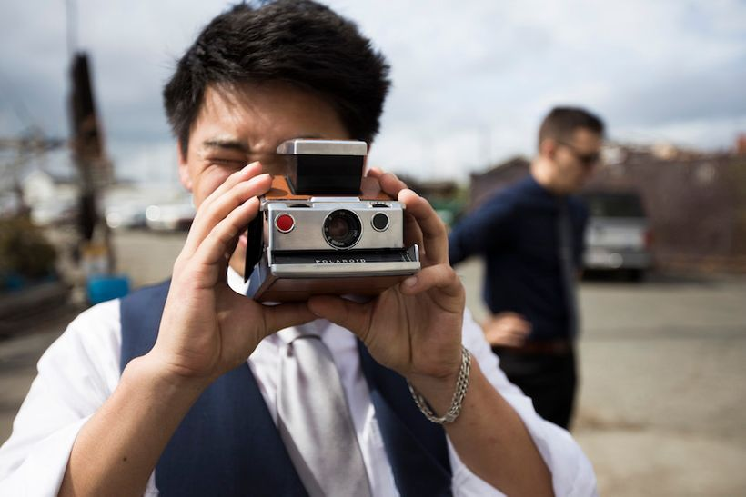 """<strong><em>Woo:  """"We believe in a vintage revival — Polaroids, post cards and Motown...""""</em></strong>"""