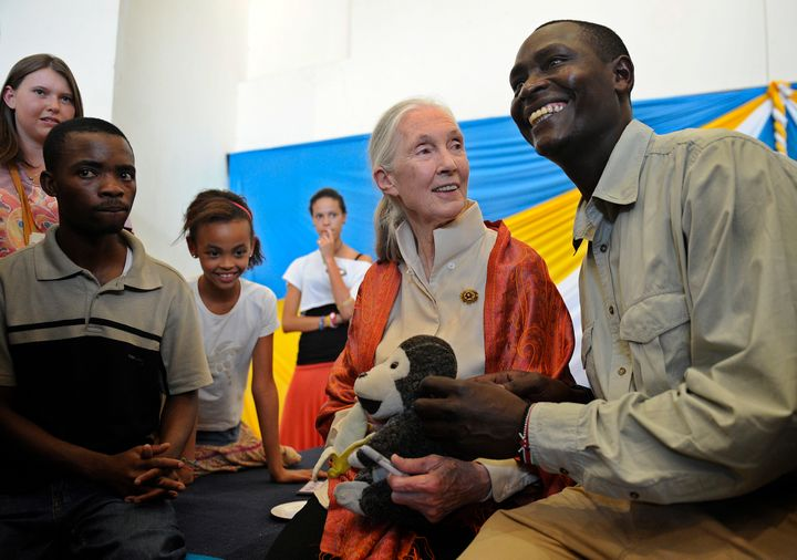 Dr. Jane Goodall, famed primatologist, said she realized conservationists needed the support and input of local communit