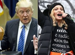 Donald Trump Lays Into 'Disgraceful' Madonna Over Women's March Speech