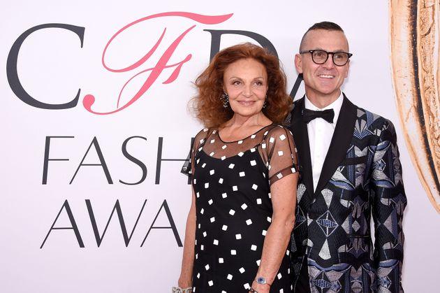 Diane von Furstenberg and Steven
