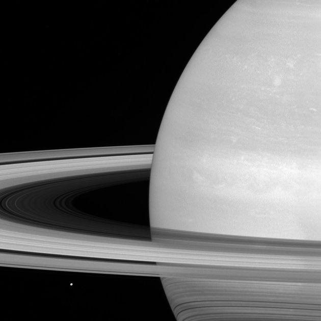 Cassini Probe's Stunning Photos Show Saturn's Rings In Unprecedented