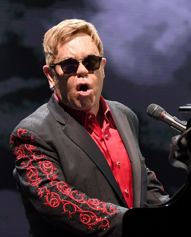 elton john song writer Elton john just performed at the reception for prince harry and duchess meghan markle just as we said he would we've learned elton sang your song to the vip crowd on hand -- the queen and.