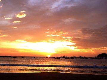 <p>Sunset over San Juan del Sur, Nicaragua</p>