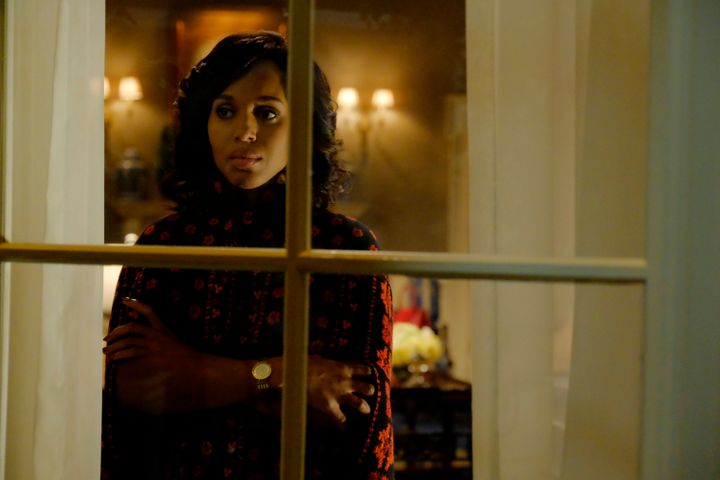 "Kerry Washington in ""Scandal."""