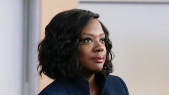 HOW TO GET AWAY WITH MURDER - 'We're Good People Now' - With Wallace Mahoney's murder unsolved and Frank's whereabouts unknown, the 'Keating 5' struggle to move on with their lives as they enter into their second year of law school. Meanwhile, Annalise's reputation at Middleton University is on the line, so she creates a criminal law clinic where the students will compete to try their own pro bono cases. Annalise also wrestles with a decision involving Frank that could change everything, on the highly anticipated season premiere of 'How to Get Away with Murder,' THURSDAY, SEPTEMBER 22 (10:00-11:00 p.m. EDT), on the ABC Television Network. (Mitch Haaseth/ABC via Getty Images) VIOLA DAVIS