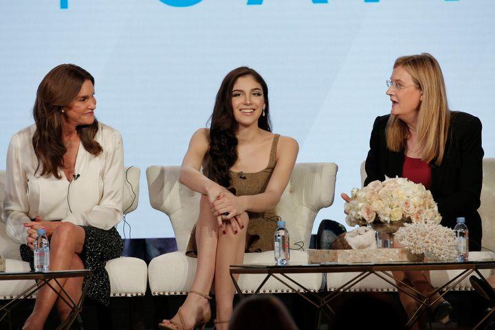 Caitlyn Jenner, Emma Giselle and Jennifer Boylan.