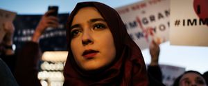 BORDER ISLAM ISLAMIC LIBERAL MEXICO MUSLIM RALLY TRUMP WALL