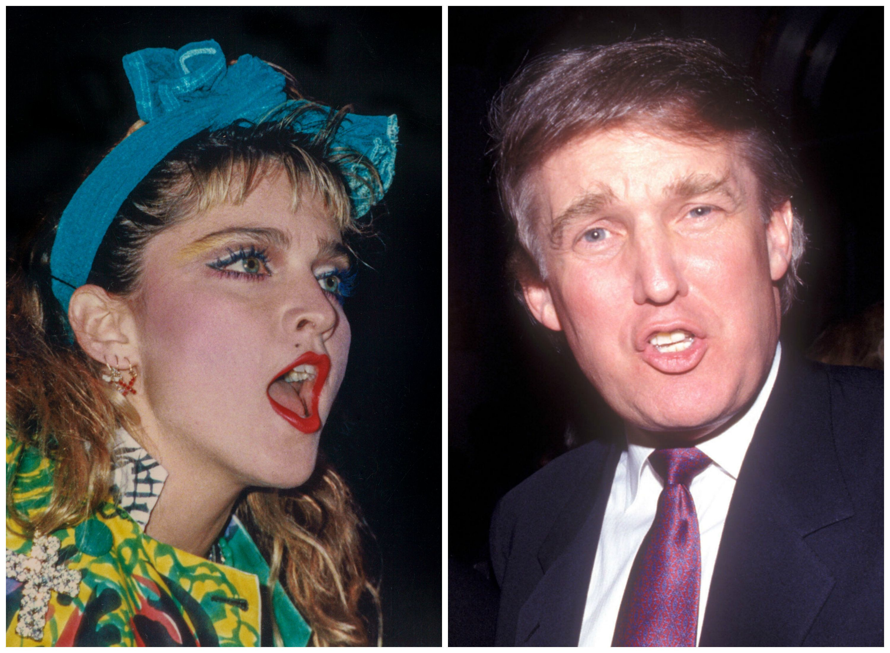 Donald Trump once pretended to be his own public relations representative to spread the rumor that Madonna had tried to
