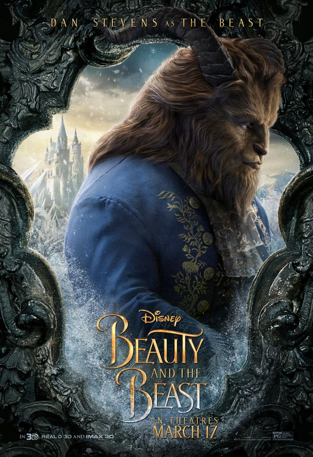 New 'Beauty And The Beast' Character Posters Will Make You Smile Like a