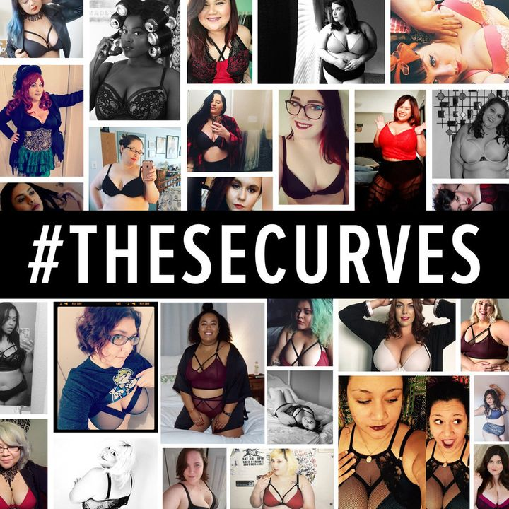 Just some of the women featured in #thesecurves.