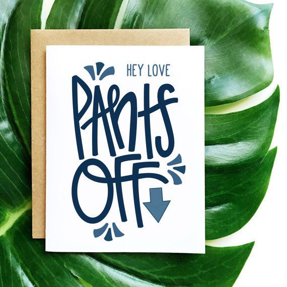 """Buy it <a href=""""https://www.etsy.com/listing/261892511/hey-lovepants-offvalentines-day-cardlove?ref=shop_home_active_1"""" targe"""