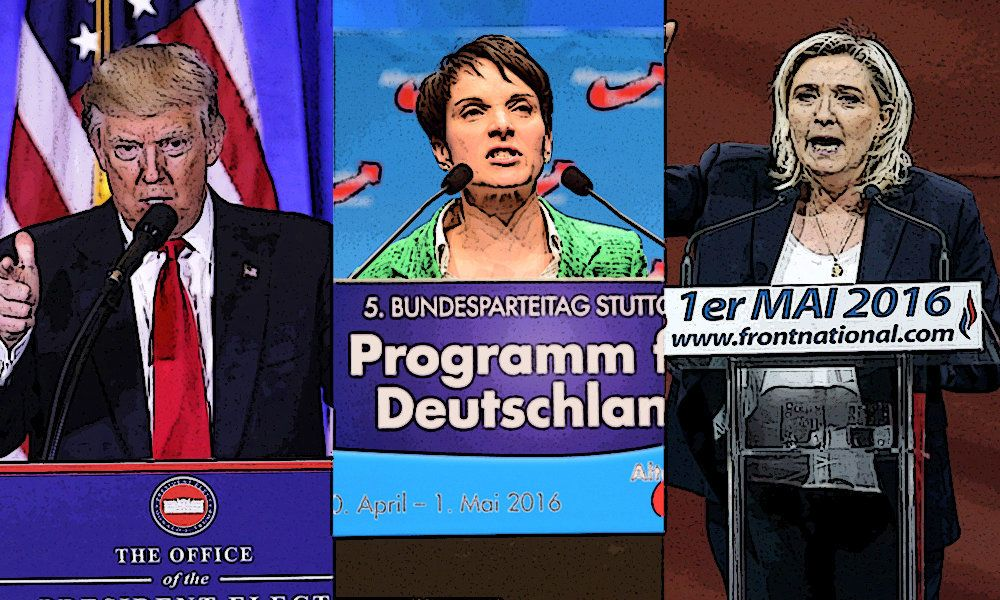 Todays polarized world has seen populists leaders like US President Donald Trump German AfD leader Frauke Petry and Frances National Front leader Marine Le Pen rise to prominence