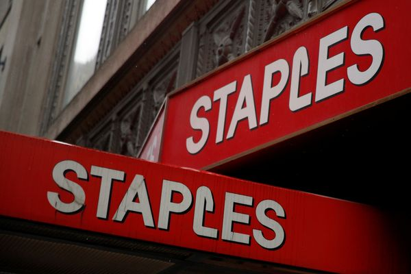 Staples will be closed for Thanksgiving but will open its doors bright and early at 6 a.m. for Black Friday shoppers.