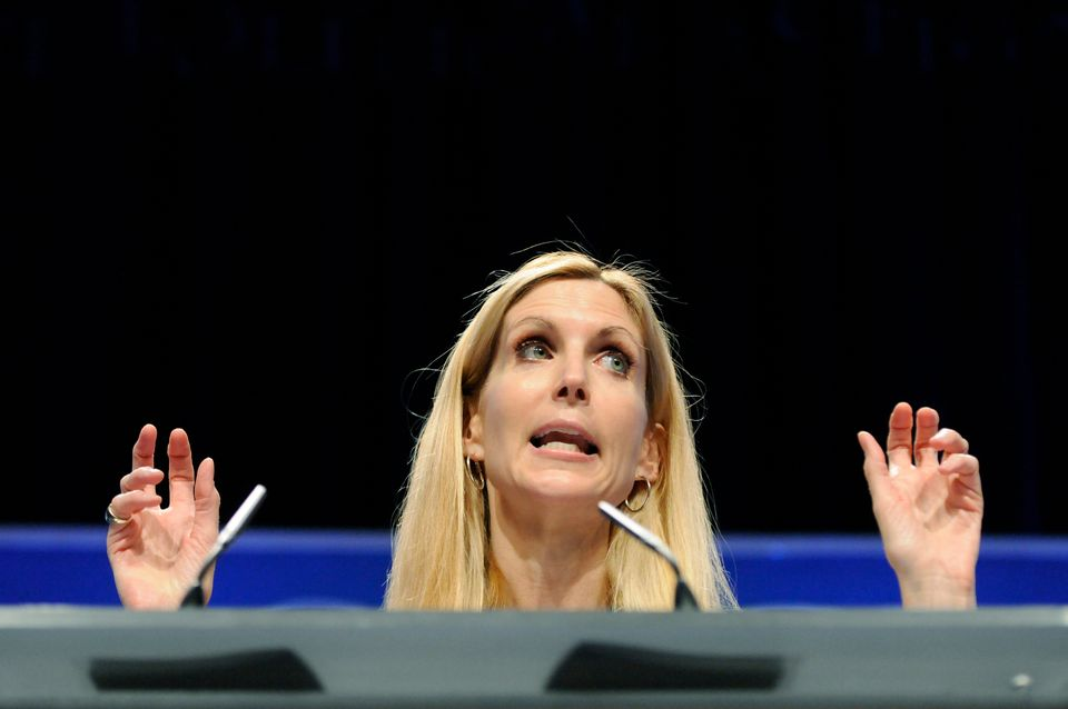 "Political pundit Ann Coulter threw her support behind Trump when she was a guest on ""<a href=""http://www.metaxasta"