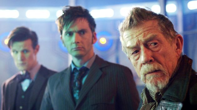 John Hurt was a welcome addition to the Doctors' lineup for the Timelord's 50thanniversary